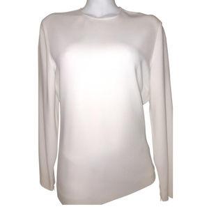 Stella McCartney cream long sleeve blouse
